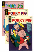 Bronze Age (1970-1979):Cartoon Character, Porky Pig File Copies Group (Gold Key, 1967-79) Condition: AverageVF+.... (Total: 21 Comic Books)