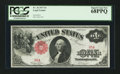 Large Size:Legal Tender Notes, Fr. 36 $1 1917 Legal Tender with Serial Number Five PCGS Superb GemNew 68PPQ.. ...
