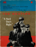 "Music Memorabilia:Memorabilia, Beatles ""A Hard Day's Night"" Royal World Premiere Program (LondonPavilion, 1964)...."