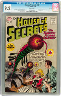 Silver Age (1956-1969):Mystery, House of Secrets #38 Savannah pedigree (DC, 1960) CGC NM- 9.2 Whitepages....