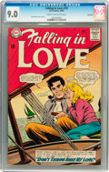 Silver Age (1956-1969):Romance, Falling in Love #70 Savannah pedigree (DC, 1964) CGC VF/NM 9.0Cream to off-white pages....