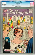 Silver Age (1956-1969):Romance, Falling in Love #68 Savannah pedigree (DC, 1964) CGC VF/NM 9.0Off-white pages....