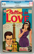 Silver Age (1956-1969):Romance, Falling in Love #67 Savannah pedigree (DC, 1964) CGC VF/NM 9.0Off-white pages....