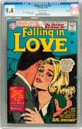 Silver Age (1956-1969):Romance, Falling in Love #78 Savannah pedigree (DC, 1965) CGC NM 9.4Off-white pages....