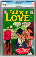 Silver Age (1956-1969):Romance, Falling in Love #76 Savannah pedigree (DC, 1965) CGC NM- 9.2Off-white pages....