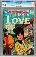 Silver Age (1956-1969):Romance, Falling in Love #75 Savannah pedigree (DC, 1965) CGC NM 9.4 Creamto off-white pages....