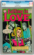 Silver Age (1956-1969):Romance, Falling in Love #71 Savannah pedigree (DC, 1964) CGC VF+ 8.5Off-white pages....