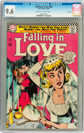 Silver Age (1956-1969):Romance, Falling in Love #86 Savannah pedigree (DC, 1966) CGC NM+ 9.6 Creamto off-white pages....