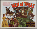 """Movie Posters:Western, Men of Texas (Realart, R-1948). Half Sheets (2) (22"""" X 28"""") Style A & B. Western.. ... (Total: 2 Items)"""