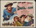 """Movie Posters:Western, Duel in the Sun (Selznick, R-1954). Half Sheet (22"""" X 28"""") Style B. Western.. ..."""