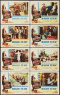 """Movie Posters:Western, Wagon Team (Columbia, 1952). Lobby Card Set of 8 (11"""" X 14""""). Western.. ... (Total: 8 Items)"""