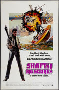 "Movie Posters:Blaxploitation, Shaft's Big Score! (MGM, 1972). One Sheet (27"" X 41""). Blaxploitation.. ..."