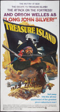 "Movie Posters:Adventure, Treasure Island (National General, 1972). Three Sheet (41"" X 81"").Adventure.. ..."