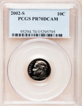 Proof Roosevelt Dimes, 2002-S 10C Clad PR70 Deep Cameo PCGS. PCGS Population (137). NGCCensus: (0). Numismedia Wsl. Price for problem free NGC/P...