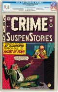 Golden Age (1938-1955):Crime, Crime SuspenStories #3 Gaines File pedigree 8/11 (EC, 1951) CGC NM/MT 9.8 Off-white to white pages....