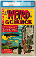 Golden Age (1938-1955):Science Fiction, Weird Science #13 (#2) Gaines File pedigree 3/10 (EC, 1950) CGCNM/MT 9.8 Off-white to white pages....
