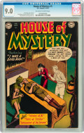 Golden Age (1938-1955):Horror, House of Mystery #2 (DC, 1952) CGC VF/NM 9.0 Off-white to whitepages....