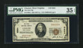 National Bank Notes:West Virginia, Chester, WV - $20 1929 Ty. 1 The First NB Ch. # 6984. ...