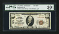 National Bank Notes:Tennessee, Columbia, TN - $10 1929 Ty. 1 The Phoenix NB Ch. # 7870. ...