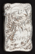Silver Smalls:Match Safes, A GORHAM SILVER AND SILVER GILT MATCH SAFE . Gorham ManufacturingCo., Providence, Rhode Island, circa 1900. Marks: (lion-an...