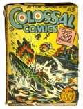 Golden Age (1938-1955):Miscellaneous, Colossal Comics #nn (Elhil Publishing Co., 1950) Condition: FR/GD....
