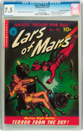 Golden Age (1938-1955):Science Fiction, Lars of Mars #10 Mile High pedigree (Ziff-Davis, 1951) CGC VF- 7.5 White pages....