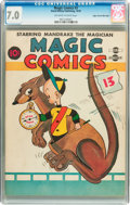 Golden Age (1938-1955):Funny Animal, Magic Comics #3 Mile High pedigree (David McKay Publications, 1939)CGC FN/VF 7.0 Off-white to white pages....