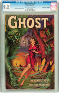 Golden Age (1938-1955):Horror, Ghost #1 Mile High pedigree (Fiction House, 1951) CGC NM- 9.2Off-white to white pages....
