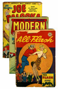 Golden Age (1938-1955):Miscellaneous, Comic Books - Assorted Golden Age Comics Group (Various, 1940s).... (Total: 9 Comic Books)