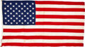Movie/TV Memorabilia:Memorabilia, A Special 'Bicentennial' American Flag, 1976.... (Total: 4 )