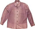 """Movie/TV Memorabilia:Costumes, A Shirt from """"Rooster Cogburn.""""..."""