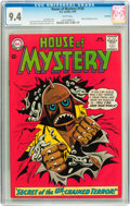 Silver Age (1956-1969):Science Fiction, House of Mystery #150 Savannah pedigree (DC, 1965) CGC NM 9.4 White pages....