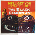 "Movie Posters:Science Fiction, The Black Scorpion (Warner Brothers, 1957). Six Sheet (81"" X 81"").Science Fiction.. ..."