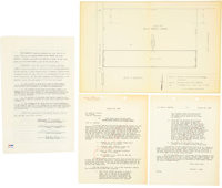 Elvis Presley and Parents Signed Graceland Purchase Agreement