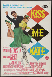 "Kiss Me Kate (MGM, 1953). One Sheet (27"" X 41""). Musical"