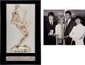 Music Memorabilia:Awards, The Beatles Melody Maker Pop Poll Award (1965).... (Total: 2Items)