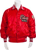 Music Memorabilia:Costumes, Elvis Presley Tour Jacket Given as a Gift to Congressman KennethGray....