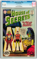 Silver Age (1956-1969):Horror, House of Secrets #42 Savannah pedigree (DC, 1961) CGC VF/NM 9.0Off-white to white pages....