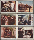 """Movie Posters:War, Destroyer (Columbia, 1943). British Front of House Photos (6) (8"""" X10""""). War.. ... (Total: 6 Items)"""