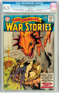 Star Spangled War Stories #117 Savannah pedigree (DC, 1964) CGC VF+ 8.5 White pages