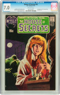 Bronze Age (1970-1979):Horror, House of Secrets #92 (DC, 1971) CGC FN/VF 7.0 Off-white pages....