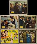 """Movie Posters:Musical, Second Fiddle (20th Century Fox, 1939). Title Lobby Card and Lobby Cards (4) (11"""" X 14""""). Musical.. ... (Total: 5 Items)"""