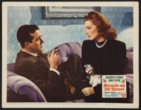 "Miracle on 34th Street (20th Century Fox, 1947). Lobby Card (11"" X 14""). Comedy"