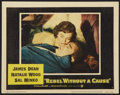 """Movie Posters:Drama, Rebel Without a Cause (Warner Brothers, R-1957). Lobby Card (11"""" X 14""""). Drama.. ..."""