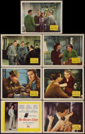 "Movie Posters:Drama, The Razor's Edge (20th Century Fox, 1946). Title Lobby Card andLobby Cards (6)(11"" X 14""). Drama.. ... (Total: 7 Items)"