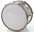 Musical Instruments:Drums & Percussion, 1966 Slingerland Tom Tom Silver Sparkle Drum #236854...