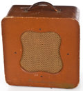 Musical Instruments:Amplifiers, PA, & Effects, 1950's Danelectro Special Brown Guitar Amplifier #/A...