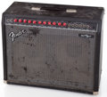 Musical Instruments:Amplifiers, PA, & Effects, 1990's Fender Princeton Chorus Black Guitar Amplifier #LO-159192...