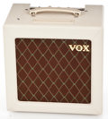 Musical Instruments:Amplifiers, PA, & Effects, Recent Vox AC-4 White Guitar Amplifier #006620...