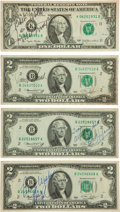Miscellaneous Collectibles:General, Sports Legends Signed Currency Lot of 4....